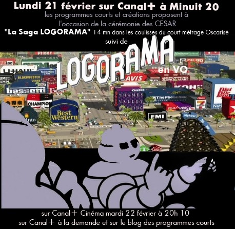 La Saga Logorama sur Canal+