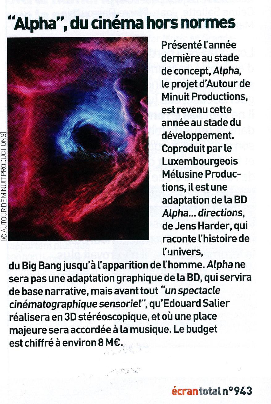 Ecran Total n°943, du 10 avril 2013